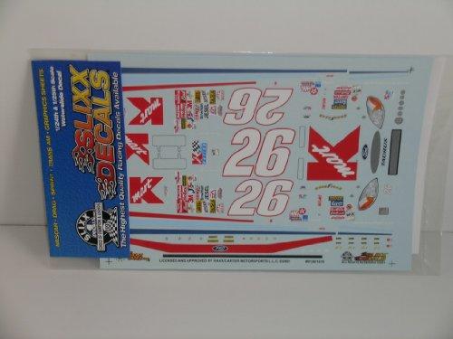 (Slixx Racing Car Decals