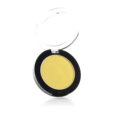 Mehron Makeup iNtense Pro Pressed Powder (.11 oz) (Yellow Spark): Beauty
