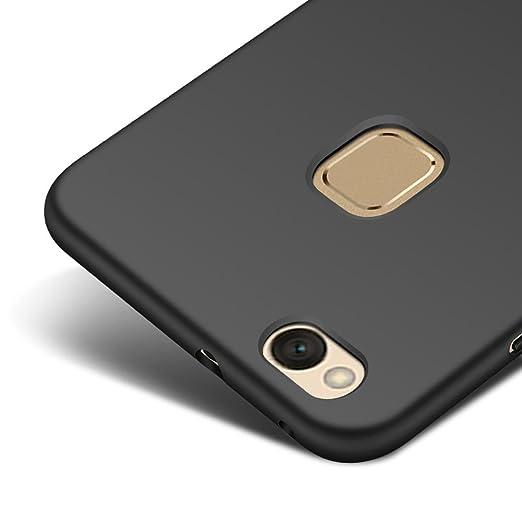 2 opinioni per Nero Ultra Sottile Custodia Cover Case + Pellicola Protettiva Per Huawei P10