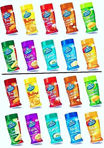 TWIN PACK Kernel Season's Popcorn Seasoning Large 10-Flavor Variety Sampler Kit (Pack of 20 Shakers) by Kernel Season's (Image #1)