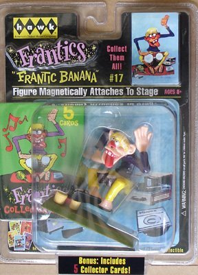 Frantic Banana #17 Frantics Carded Figure With Bonus 5 Collecter Cards