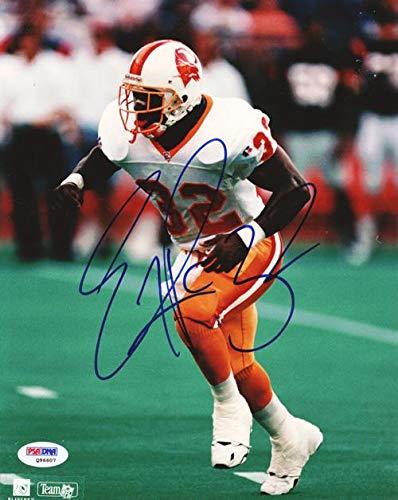 (Eric Rhett Autographed 8x10 Photo Tampa Bay Buccaneers #Q96607 - PSA/DNA Certified - Autographed NFL Photos)