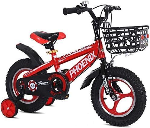 LMCLJJ Bicicleta Infantil con Pedales para Niño y Niña Ruedines de ...