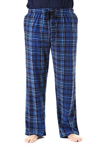 #followme 45902-9-L Polar Fleece Pajama Pants for Men Sleepwear PJs