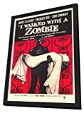 I Walked With a Zombie - 11 x 17 Framed Movie Poster
