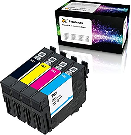 Amazon.com: ocproducts REMANUFACTURADO PARA EPSON 702 ...