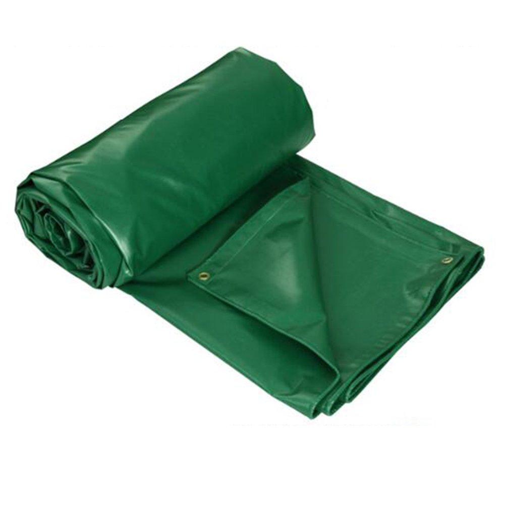 DYFYMXOutdoor Ausrüstung Staubschützender windundurchlässiger Hochtemperaturantischutz der Plane Freien LKW-Plane im Freien Plane im Freien, grün @ 1d6791