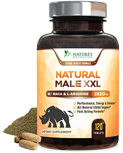 Natural Male XXL Pills Extra Strength Enlargement Booster Increases Energy