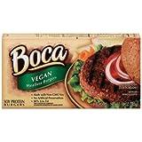 Boca Foods Vegan Meatless Burger, 10 Ounce -- 12 per case.