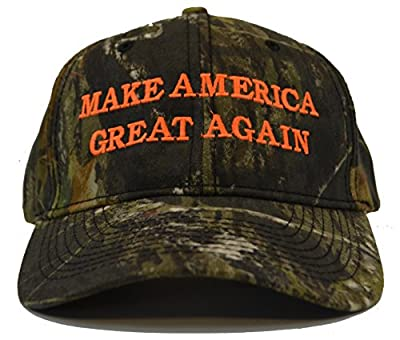 Make America Great Again Donald Trump Hat - Mossy Oak Break Up Camo