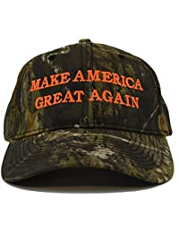 Make America Great Again Donald Trump Hat - Mossy Oak Break Up Camo