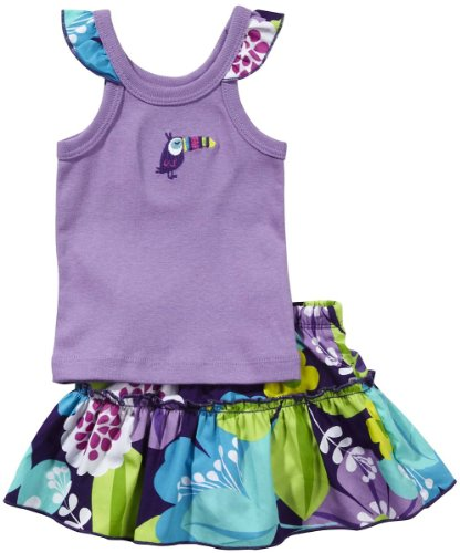 Carter's Sleeveless Top and Skort Set - Purple - 2T