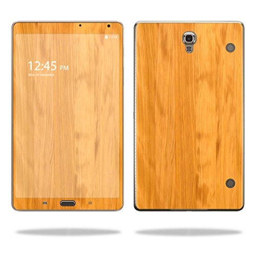 UPC 088057717508, Mightyskins Protective Vinyl Skin Decal Cover for Samsung Galaxy Tab S 8.4 wrap sticker skins Birch Wood Grain