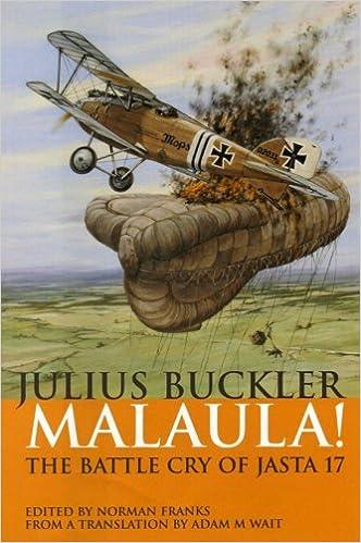 Lataa Kindle kirjoja ipad kautta usb Malaula! The Battle Cry of Jasta 17 1904943802 by Julius Buckler Suomeksi PDF DJVU