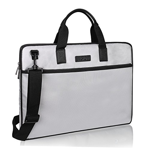 Price comparison product image Fireproof Laptop Bag Briefcase Handbag Case Cover Compatible 13-13.3 Inch Laptop,  Notebook,  MacBook Air / Pro, Passport Document with Shoulder Strap Multifunctional