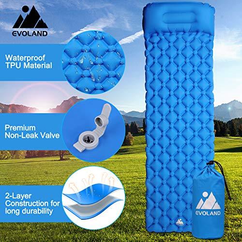 Ultraleichte Isomatte Feuchtigkeitsfest Camping Luftmatratze f/ür Outdoor Picknick,Reisen AGM Camping Isomatte