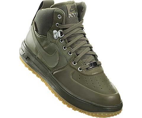 Nike Lunar Force 1 SneakerBoots (Kids) Green by Nike (Image #4)