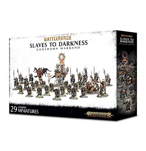 Battleforce Slaves to Darkness Godsworn Warband Warhammer Age of Sigmar