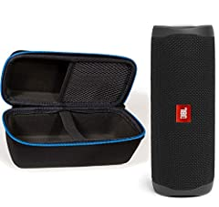 JBL Flip 5Take your tunes on the go with the powerful JBL Flip 5. Our lightweight Bluetooth speaker goes anywhere. Bad weather? Not to worry. With its waterproof design, you can rock out to our signature sound rain or shine. Move more. Pair t...