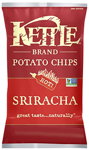 Kettle Chips Sriracha Chips, 220 Gram