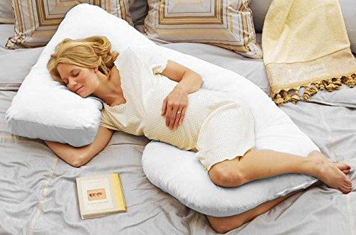 Today S Mom Cozy Cuddler Pregnancy Pillow Espresso Buy