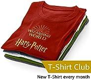 Harry Potter T-Shirt Club Subscription – Men – Large