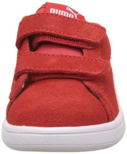 kinder high Smash puma White Risk Rot Ps V Sneaker Unisex Red Sd Puma V2 zwE55R