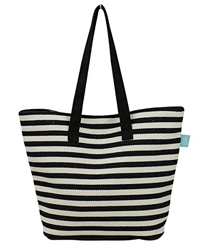 Canvas Beach Tote Bags - 1