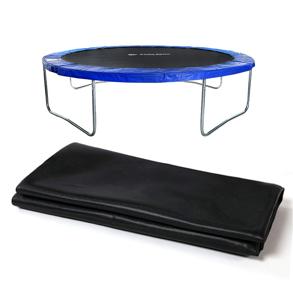 Safly Zone Trampoline Jumping Mat Replacement for 12' Round Frame 4.7'' Spring with 72 V-Rings Free Spring Pull Tool