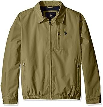 U S Polo Assn Men S Micro Golf Jacket With Polar Fleece