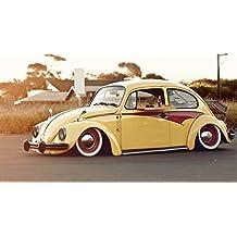 Volkswagen Beetle Old Car Poster 24x36