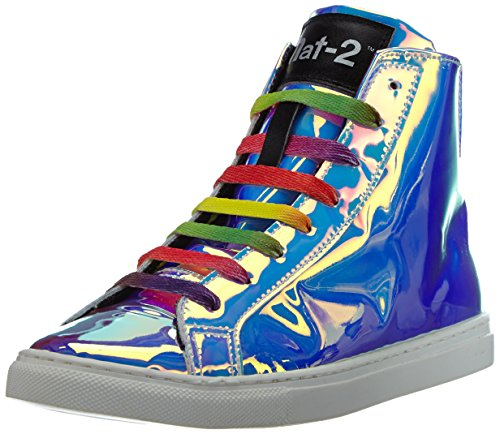 Nat-2 220 bpm Damen Hohe Sneakers Silber (vanish rainbow)