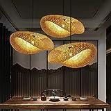 Bamboo Pendant Lighting for Kitchen