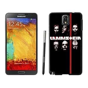 Fashionable Custom Designed Samsung Galaxy Note 3 N900A N900V N900P N900T Phone Case With Rammstein Rock Band_Black Phone Case