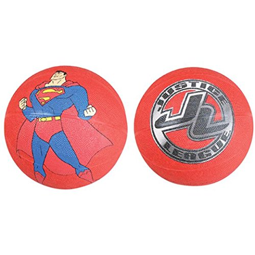 Superman Justice League Regulation Size Blue and Red Basketball (1)