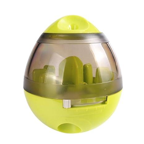 symboat - pelota interactiva con dispensador de comida para mascotas (perros y gatos),