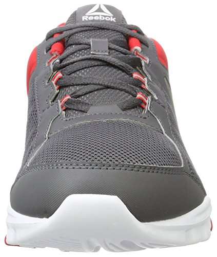 Grey 0 Indoor Sportive Uomo ash Scarpe Train Rosso 9 white primal Red Mt Reebok Yourflex q0wH1t0O
