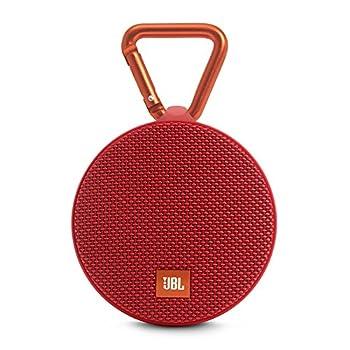 Jbl Clip 2 Waterproof Portable Bluetooth Speaker (Red) 0