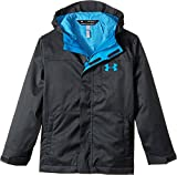 Under Armour Boys' Storm Wildwood 3-in-1 Jacket, Anthracite/Cruise Blue, Youth Large