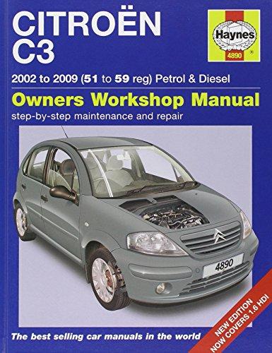 citroen c3 petrol diesel service and repair manual 2002 2009 rh amazon co uk Citroen C3 Picasso New Citroen C3