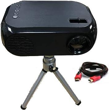 DOJA Barcelona | Mini proyector portatil LED Full HD + TRIPODE y ...