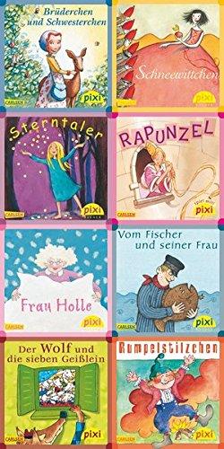 Pixi-Bundle 8er Serie 161: Pixis Märchenstube