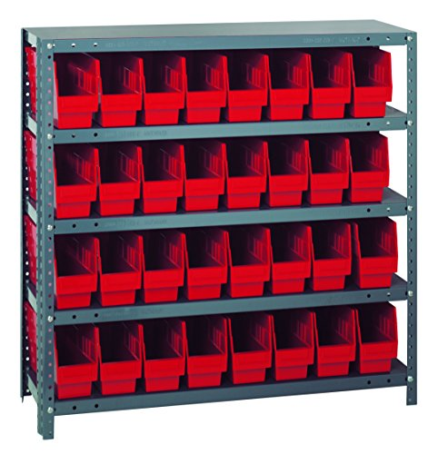 (Quantum Storage Systems 1239-201RD Store More Shelf and Bin Unit, 12