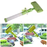 Dealglad New Handy Double-Sides Window Glass Brush Car Windshield Cleaner Cleaning Tool with Spray Pipe