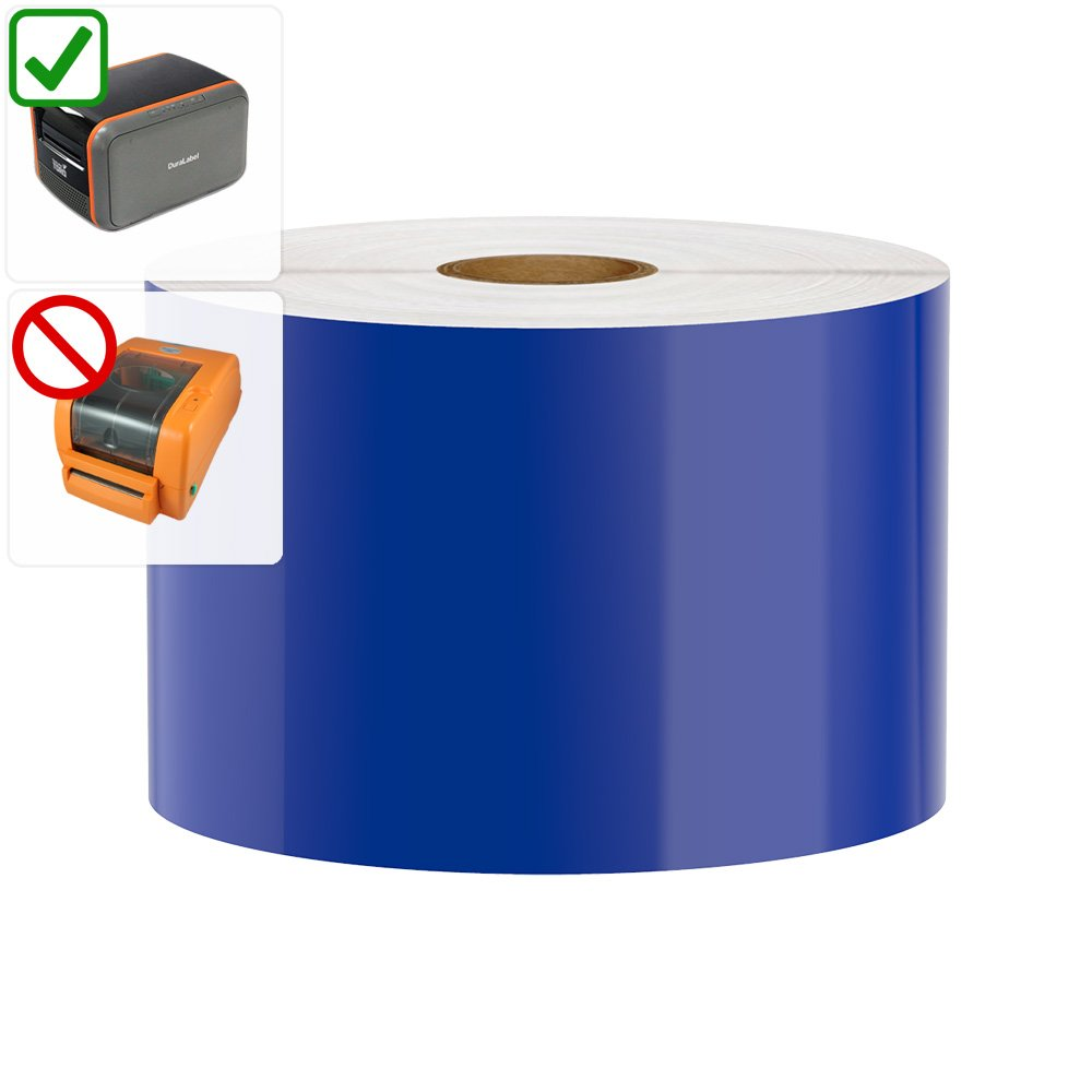 DuraLabel Toro / Bronco (2011-2015 MODELS ONLY) Compatible Premium Vinyl Tape, Blue, 3'' x 150'