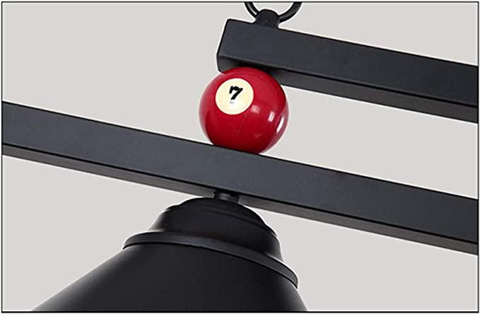 Lámpara de billar ligera de mesa de billar de diseño de bola de ...