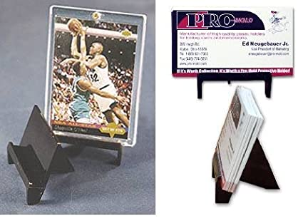 Bcw Pro Mold Sports Card Stand Display Baseball Football Basketball Or Hockey Card Display Sportscards Collecting Supplies