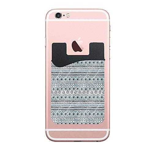 - Cellcardphone Chevron Triangles Lines Stripe Antique Antcient Tribal Design Premium Cell Phone Card Holder Sticker Firmly Mobile Cell Phones 2 PCS