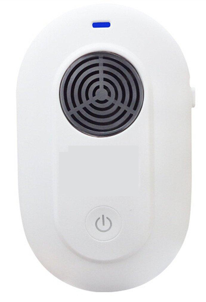miruike repelente ultrasónico de control electrónico de plagas Repel ratón, cama Bugs, Mosquitos, arañas, cucarachas, humanos y mascotas y # xFF0 C; ...