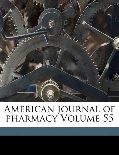 American journal of pharmacy Volume 55 pdf epub